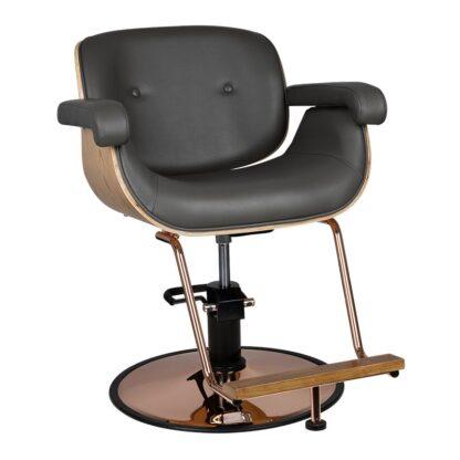 Gabbiano fotel fryzjerski Wenecja szary