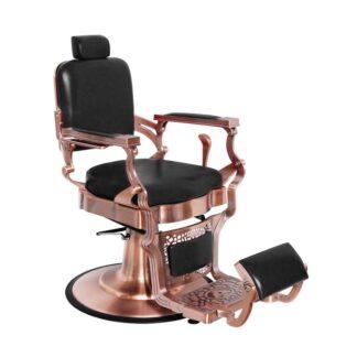 Fotel barberski czarny cupper