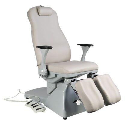 Fotel biały podologiczny Azzurro
