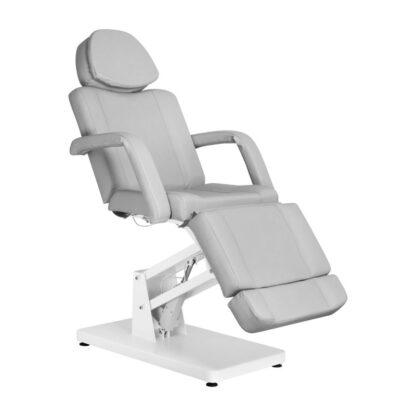 Fotel kosmetyczny szary basic