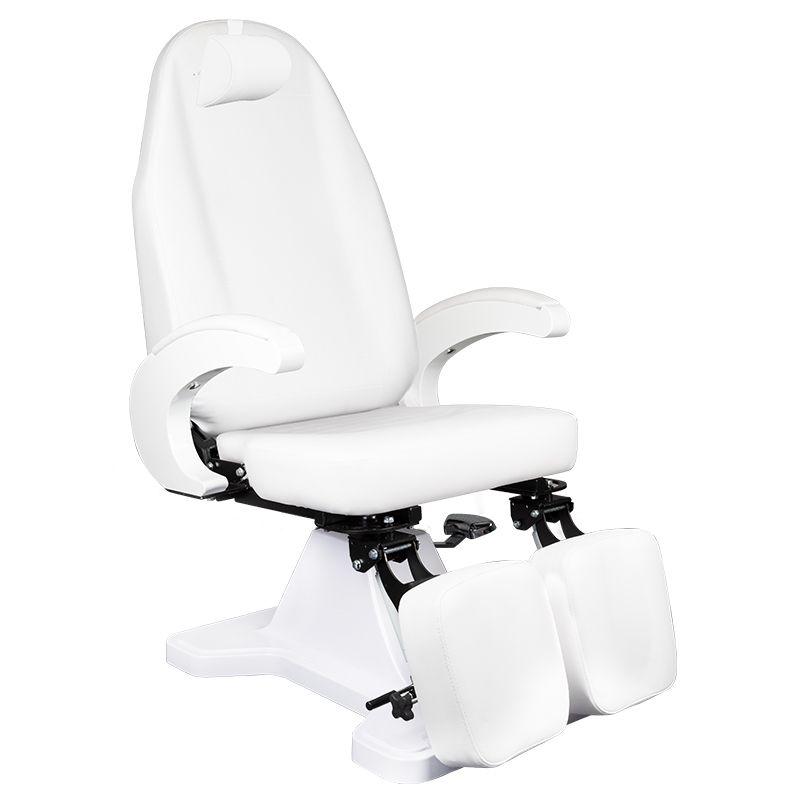 fotel-podologiczny-biały-hydraliczny