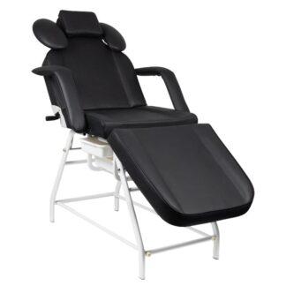 Fotel zabiegowy do rzes ivette czarny