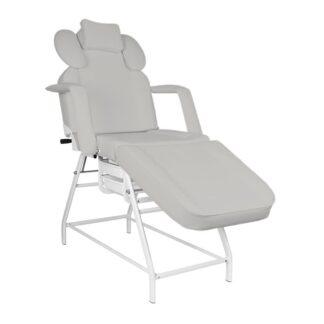 Fotel zabiegowy do rzes ivette szary