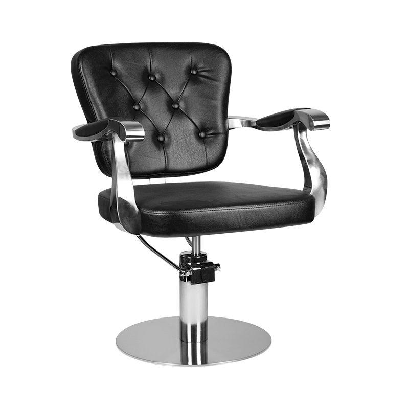 gabbiano-fotel-fryzjerski molise-czarny