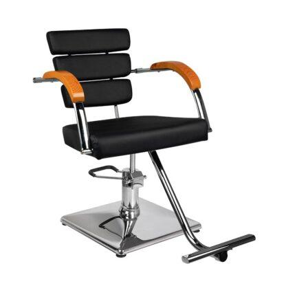 Gabbiano fotel fryzjerski rimini czarny