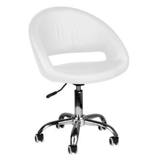 Krzeslo kosmetyczne 223 biale