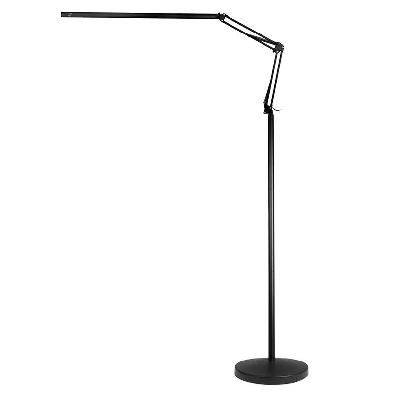 lampa-zabiegowa-led-all4light-lashes-line-2-czarna-ze-statywem
