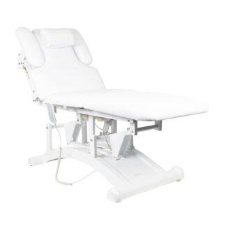 Leżanka do masażu biała
