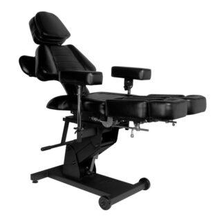 fotel elektryczny do tatuazu pro ink 606 czarny