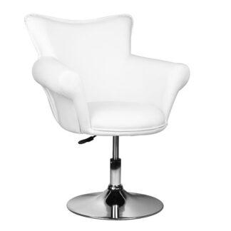 Fotel kosmetyczny - biały - model Gracja