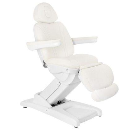 fotel kosmetyczny elektryczny azzurro 872 4 silniki biały