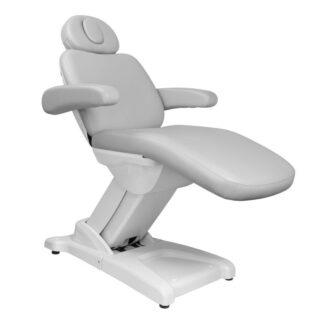 fotel kosmetyczny elektr azzurro 875b szary