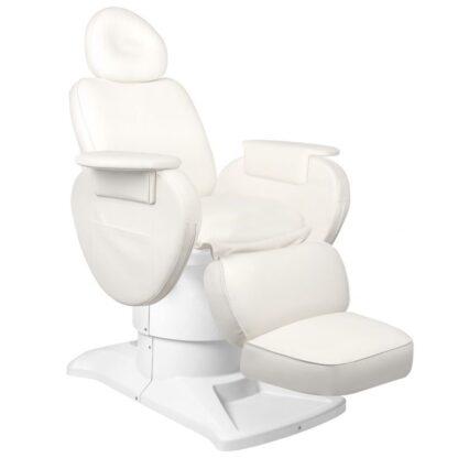fotel kosmetyczny elektryczny azzurro 813a biały