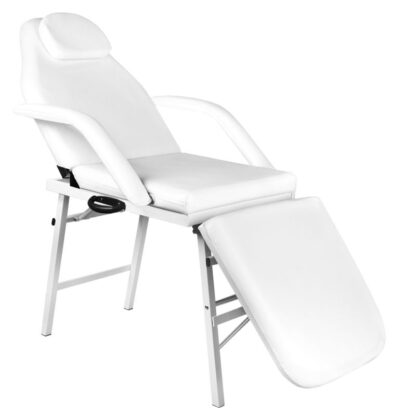 fotel kosmetyczny skladany a270 bialy