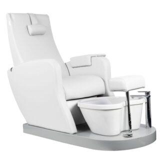 fotel spa do pedicure azzurro 016 biały