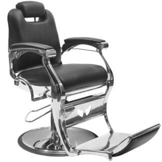 gabbiano fotel barberski angelo czarny