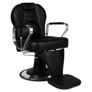 gabbiano fotel barberski tiziano czarny