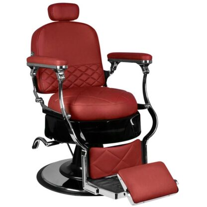 gabbiano fotel barberski vito bordowy