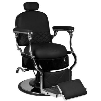gabbiano fotel barberski vito czarny