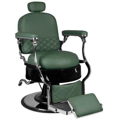 gabbiano fotel barberski vito zielony