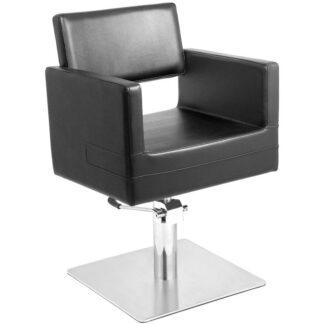 gabbiano fotel fryzjerski sofia czarny